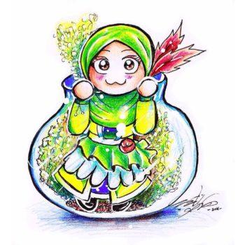 kawaii muslim comic komik hijabi