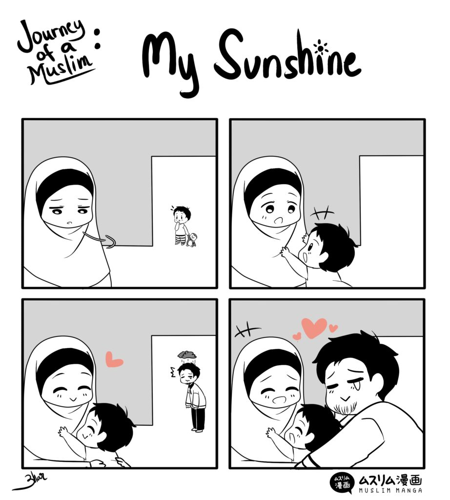 journey of a muslim my sunshine