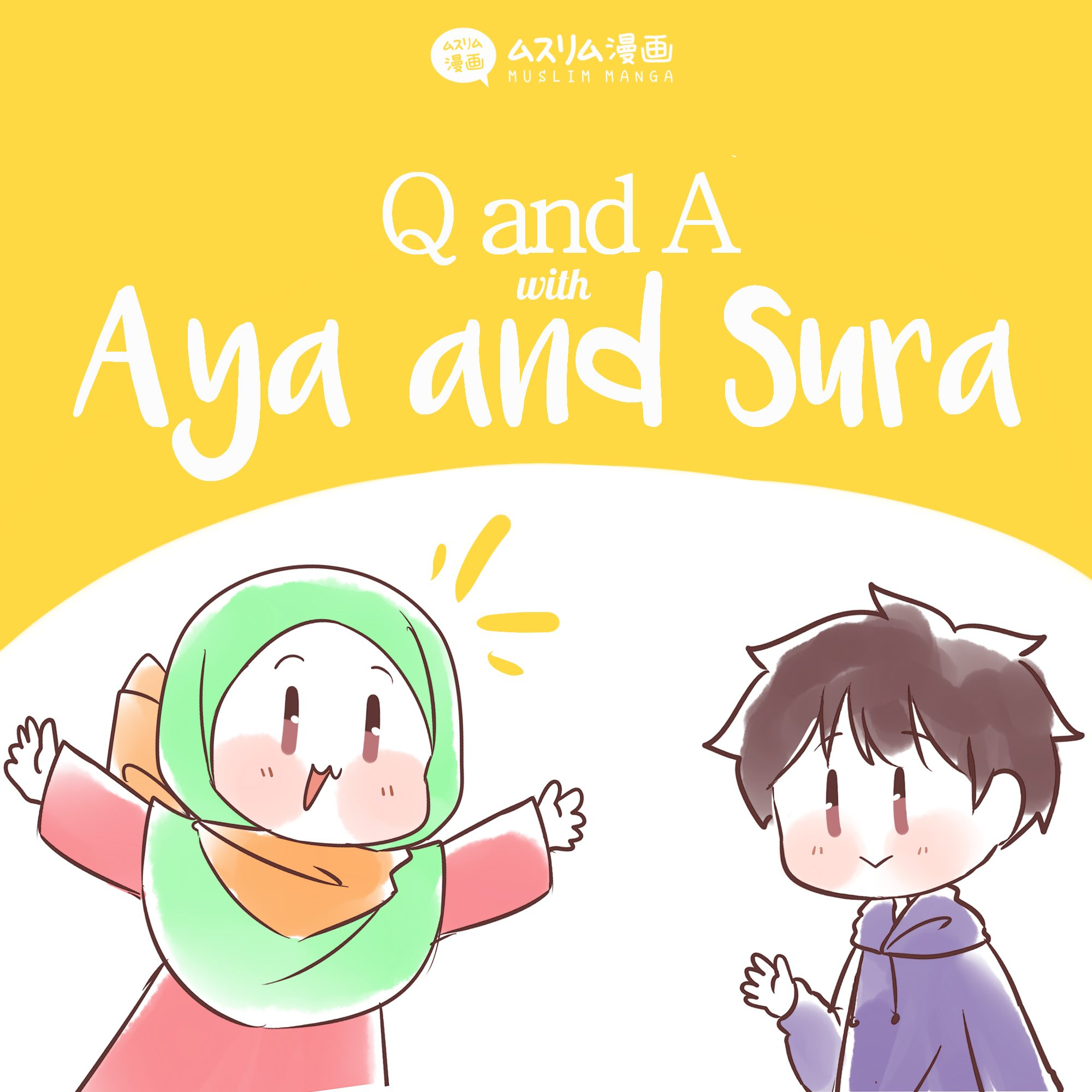 q and a with sura and aya 1