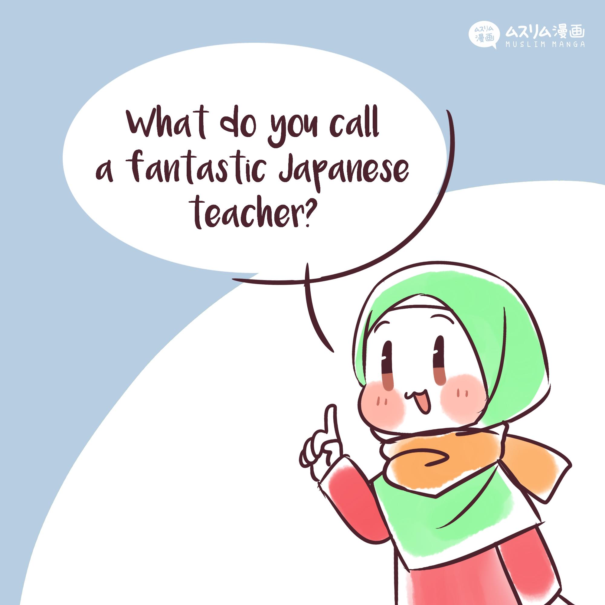 fun puns: sensei 1