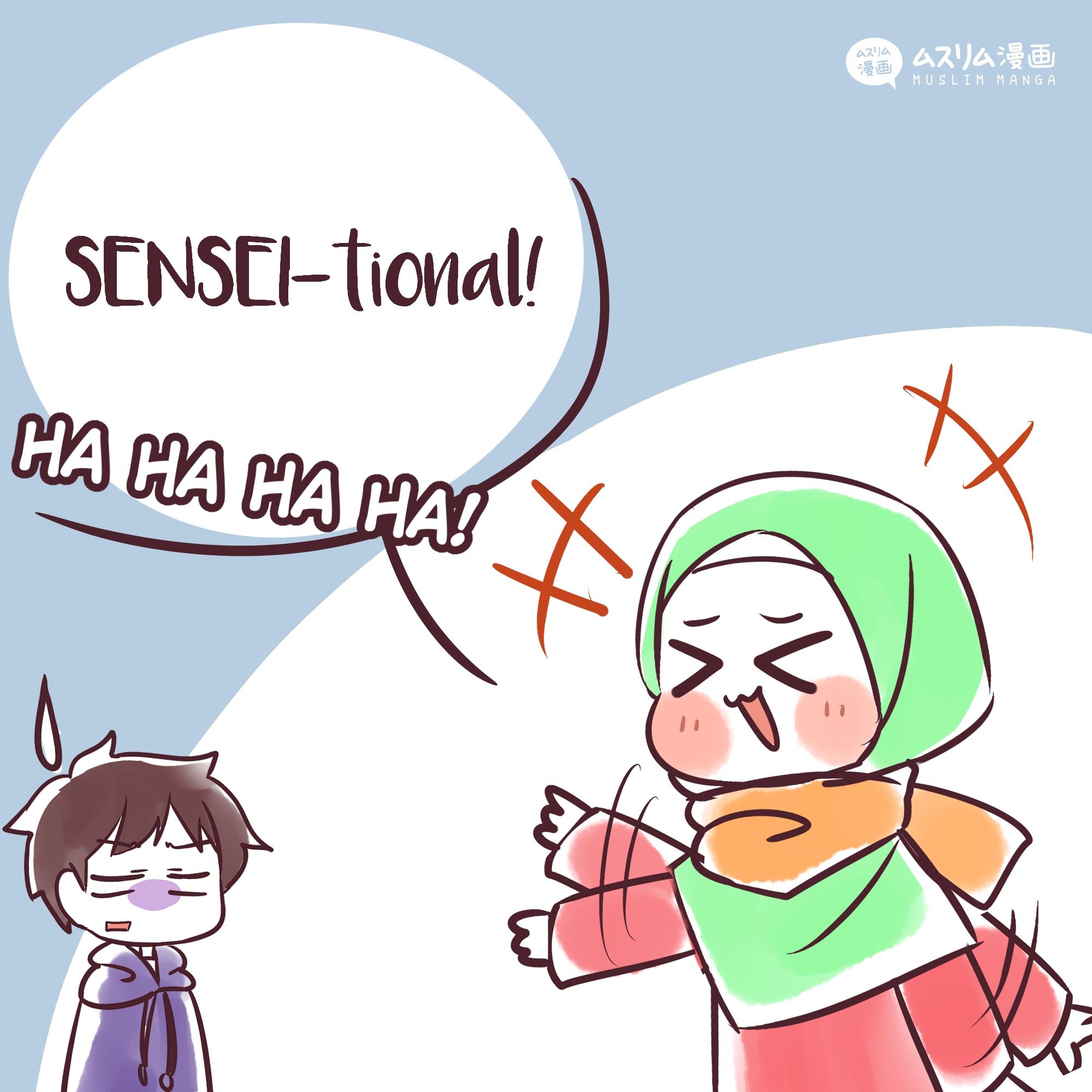 fun puns: sensei 2