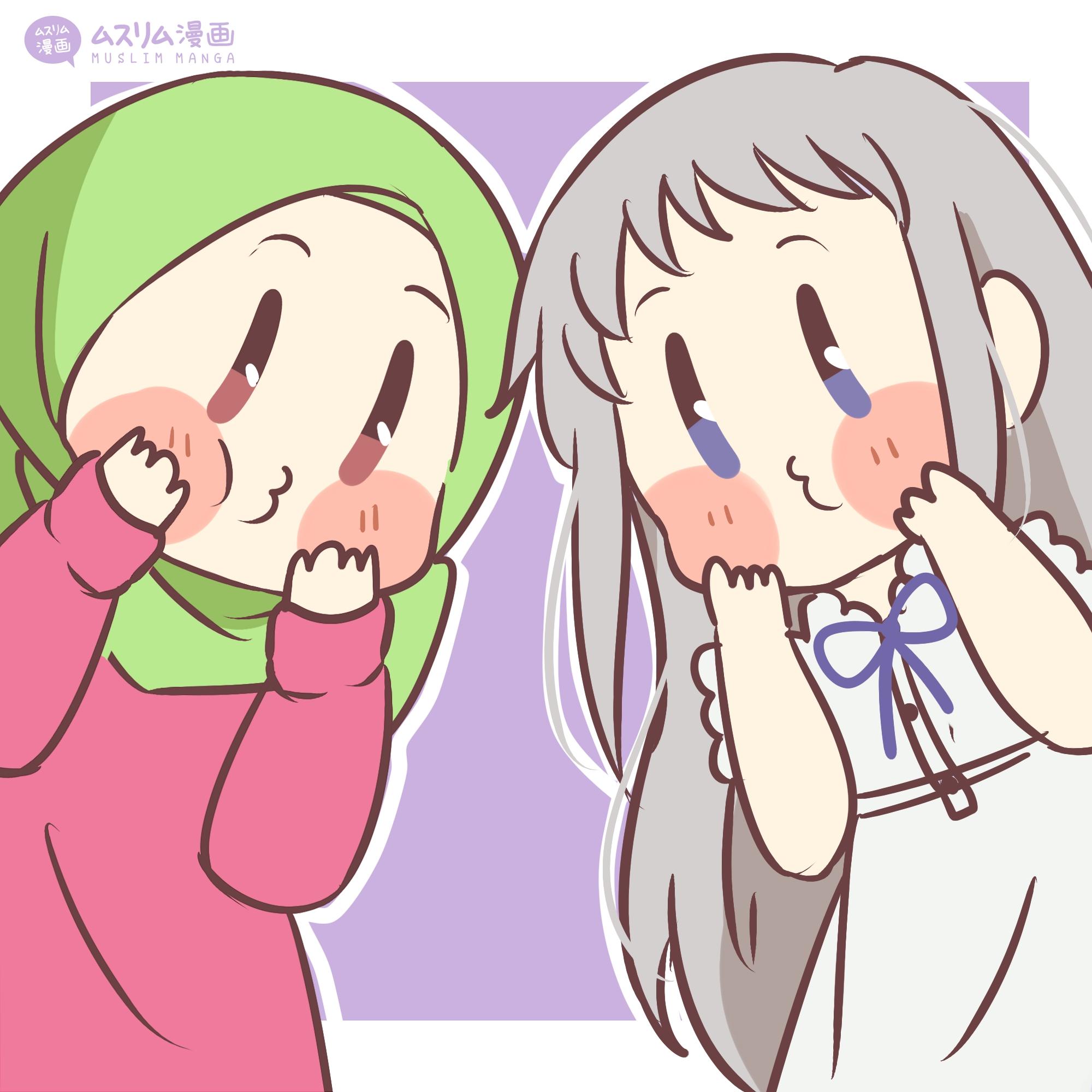 Menma and Aya Fanart