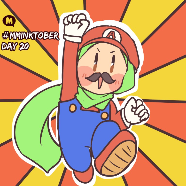 Day 20: Its-a me, Aya!
