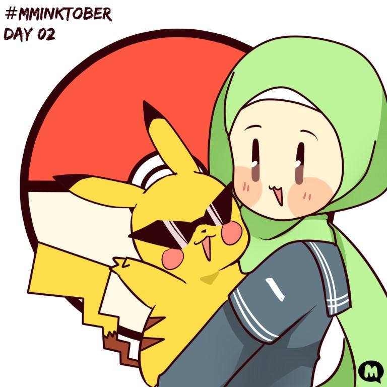Day 02: Aya Chose a Pikachu