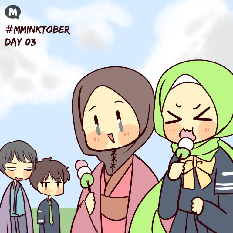 Day 03: Aya and Sura Met The Siblings