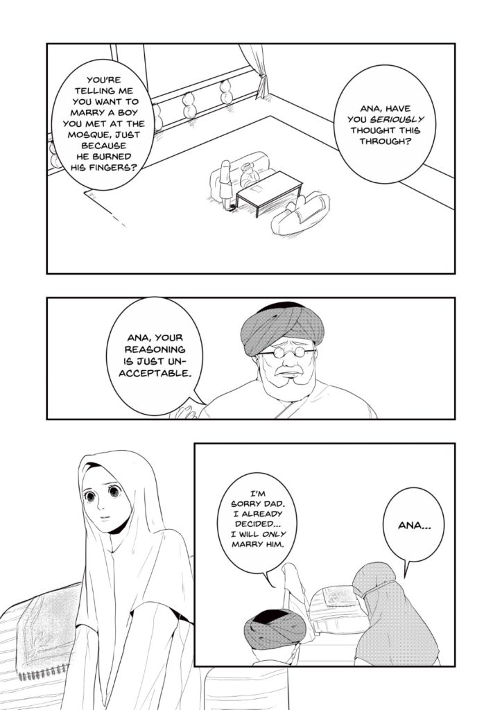 The Pious Student Page 3