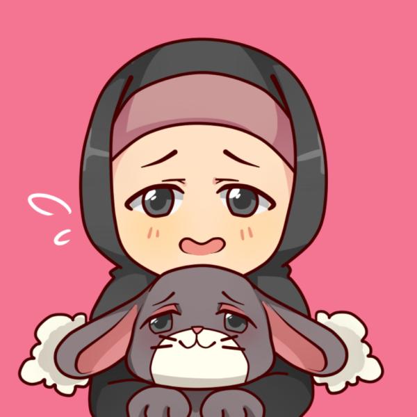 Kiko hijabi with bunny muslim manga comics anime